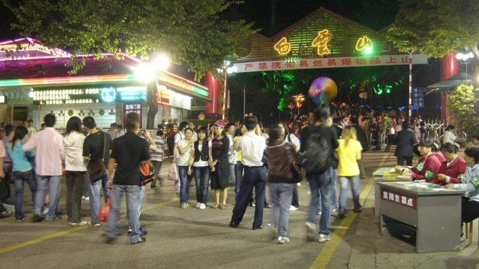 Oily expats in China